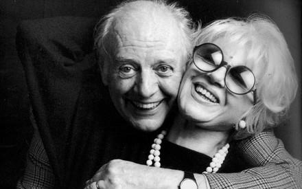 Dario Fo et Franca Rame