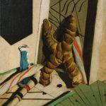 Giorgio de Chirico, Il linguaggio del bambino, 1916 (con la ciupéta frarésa). New York, Pierre and Tana Matisse Foundation Collection