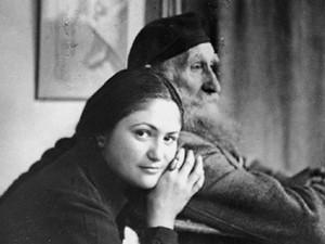Aristide Maillol e la sua musa Dina Vierny