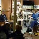 Con Florence Raut de La Libreria