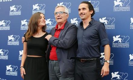 Elena Bellocchio, Marco Bellocchio e Pier Giorgio Bellocchio, tutti e tre protagonisti del film