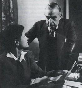 Borgese et son épouse Elisabeth Mann, Chicago