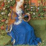 Emilia (Teseida, Bodleian Library, particolare)