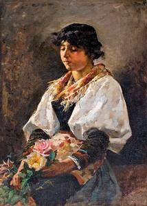 Enrique Simonet - Ciociara 1889