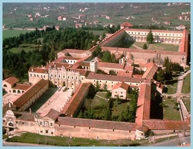 Vista d'insieme della Certosa