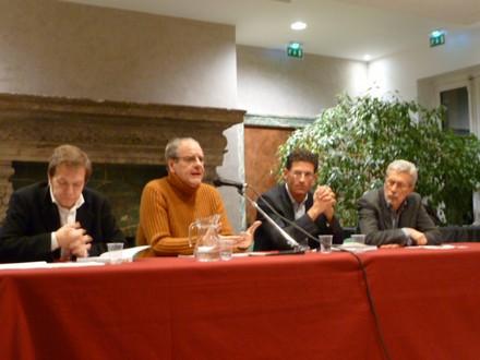Da sinistra a destra: Roberto Barnabé, Nicola Guarino, Giovanni Capecchi, Roberto Giacone