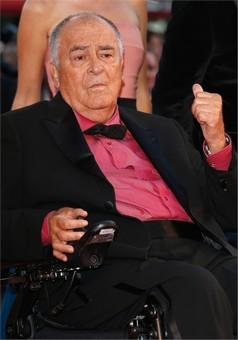 Il presidente della giuria, Bernardo Bertolucci © Getty Images