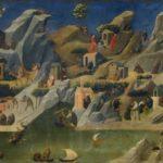 Thébaïde (détail), Fra Angelico - Galerie des Offices, Florence