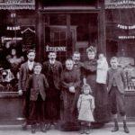 Famiglia italiana a S.Etienne, circa 1905