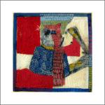 3. 16 gen. 1979 / 1982 - Tempera su fazzoletto di carta. cm 30x30