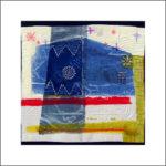 5. 1981 / 82 - Tempera su fazzoletto di carta. cm 30x30