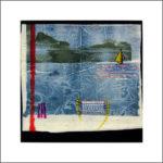 7. 1981 - Tempera su fazzoletto di carta. cm 30x30