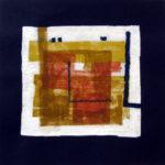 11. 1979 - Tempera su fazzoletto di carta. cm 30x30