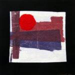 17. 1981 - Tempera su fazzoletto di carta. cm 30x30