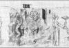 La tragedia di amore e morte - Ghismonda e Guiscardo (IV 1) - Paris, Bibliothèque Nationale de France, ms. It. 482