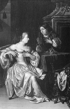 Ghismonda (IV, 1) di Adrien Van der Werff