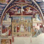 Montefalco, Chiesa di San Francesco, Cappella di san Gerolamo, storie del santo e finto polittico.