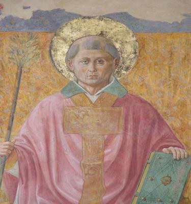 Montefalco, san Fortunato. Benozzo Gozzoli, san Fortunato.