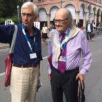 Ugo Gregoretti con il ns. Lostaglio