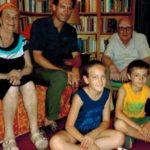 A casa di Rosetta e Andrea Camilleri, Giovanni Capecchi e i suoi figli