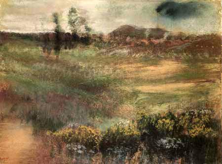 Paesaggio con ciminiere