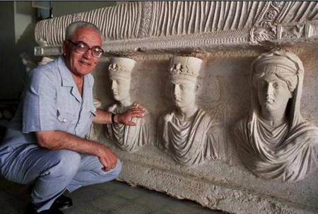 L'archeologo di Palmira, Khaled al-Asaad. Foto di Piero Benedetto