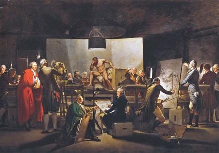 Wiener Akademie, Martin-Ferdinand Quadal 1787