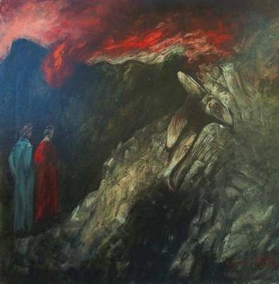 Gianni Testa, Canto XXV Inferno