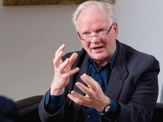 Ulrich Beck. Foto La Stampa nazionale.