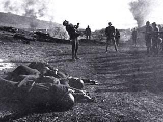 Grande Guerra. Fucilazione di desertori