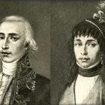 Il conte MONALDO Leopardi ((1776-1847) e la Contessa ADELAIDE Antici, di nobile famiglia, religiosissima: moglie di Monaldo, madre di Giacomo.