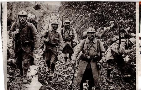 Soldati durante la guerra in Francia