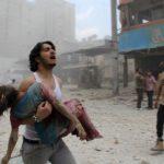 La guerra in Siria.