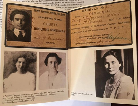 I protagonisti: Gramsci e le tre sorelle Schucht (Genia, Tania e Julka)