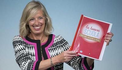 Il ministro Stefania Giannini presenta la riforma la buona Scuola