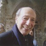 """Giorgio Pressburger à Draguignan en avril 2012, pour les """"Escapades littéraires"""". Photo inédite ©Marguerite Pozzoli"""