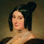 Di Francesco Hayez, Ritratto di Clara Maffei