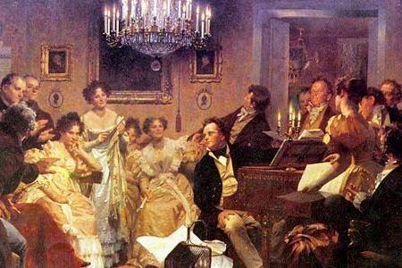Il salotto della contessa Clara Maffei