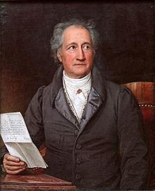 Goethe, quadro di Joseph Karl Stieler del 1828
