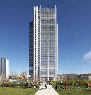 A Torino la nuova torre green firmata Renzo Piano