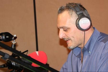 Maurizio Gregorini alla radio