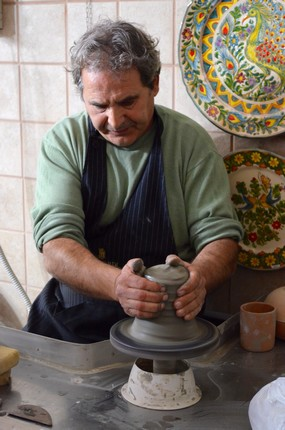 Grottaglie, artisan céramiste