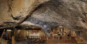 La grotte du Monte Gargano
