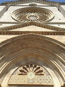 Facciata dell'abbazia
