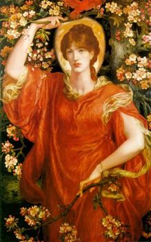 A vision of Fiammetta, di Dante Gabriel Rossetti (1878)