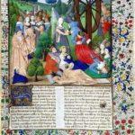 Da un manoscritto del De casibus virorum illustrium - Recto di un'edizione parigina del 1467