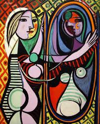 La ragazza allo specchio, di Pablo Picasso