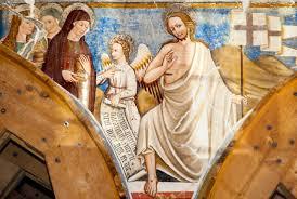 San Salvatore di Campi. Le Marie al sepolcro. Antonio Sparapane 1464