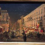 Carnevale di Roma con Fuochi (1845)