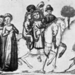Madonna Oretta e il cavaliere che mal novellava (VI,I), Cod. Parigino It. 63